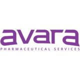 """Avara Pharmaceutical Services"" logo with a white background at a resolution of 300 by 300 pixels"