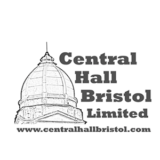 """Central Hall Bristol"" logo with a white background at a resolution of 300 by 300 pixels"