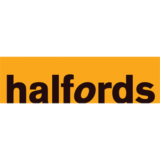 """Halfords"" logo with a white background at a resolution of 300 by 300 pixels"