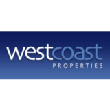 """West Coast Properties"" logo with a white background at a resolution of 300 by 300 pixels"