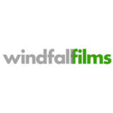 """Windfall films"" logo with a white background at a resolution of 300 by 300 pixels"