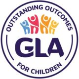 """Gloucestershire Learning Alliance"" logo with a white background at a resolution of 300 by 300 pixels"